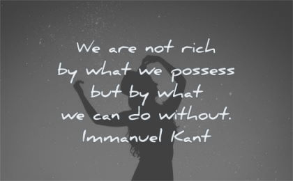 freedom quotes not rich what possess without immanuel kant wisdom woman silhouette