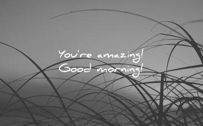 good morning quotes you amazing wisdom nature