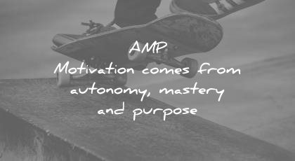 how to learn faster amp motivation comes from autonomy mastery purpose wisdom quotes