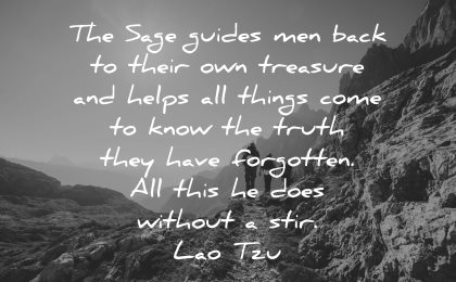 lao tzu quotes sage guides men back their treasure wisdom nature hike