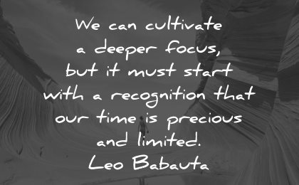 life is beautiful quotes cultivate leo babauta wisdom